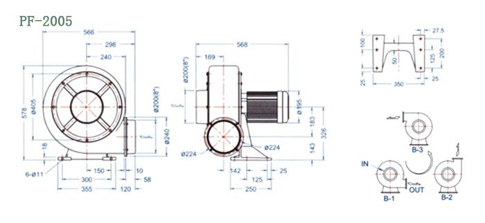 PF-2005尺寸图