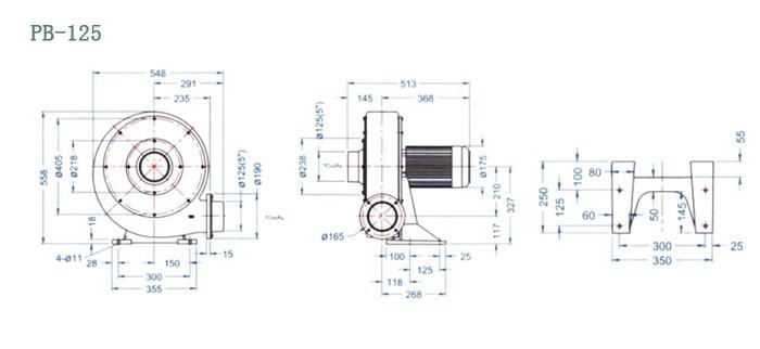 PB-125尺寸图
