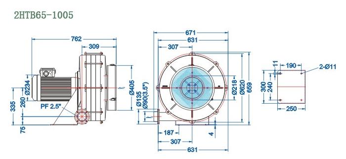2HTB65-1005尺寸图