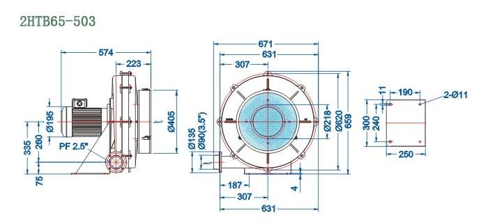 2HTB65-503尺寸图