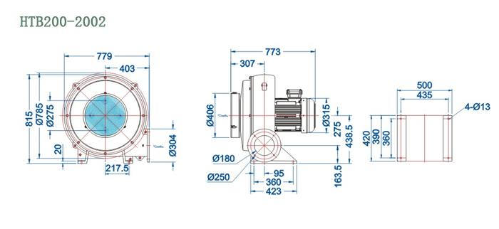 HTB200-2002尺寸图
