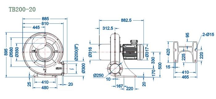 tb200-20尺寸图